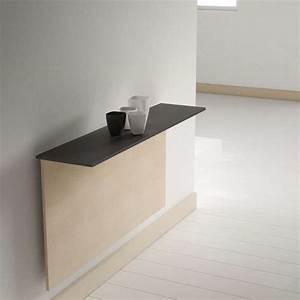Table Pliable Murale : fabriquer table pliante murale elegant incroyable cuisine avec plan de travail noir cuisine ~ Preciouscoupons.com Idées de Décoration