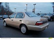 Cashmere Beige Toyota Corolla