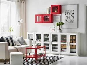 Ikea Schränke Wohnzimmer : store and display with some bright pops of color ikea ~ A.2002-acura-tl-radio.info Haus und Dekorationen