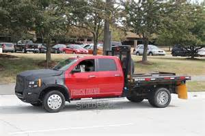 Kitchen Facelift Before And After by Spied 2018 Ram Heavy Duty Facelift Possible Powertrain