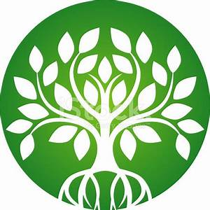 Green Tree Icon Stock Vector - FreeImages.com