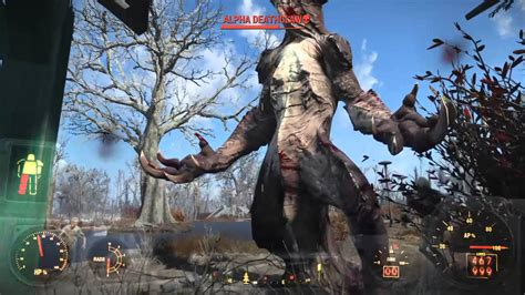 The Iron Giant Wallpaper Fallout 4 Legendary Quot Alpha Quot Deathclaw Location Glitch Easy Kill Youtube