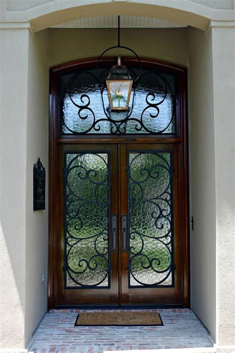wood doors  iron grilles mandeville metairie  orleans doors  elegance