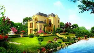 Beautiful house wallpaper