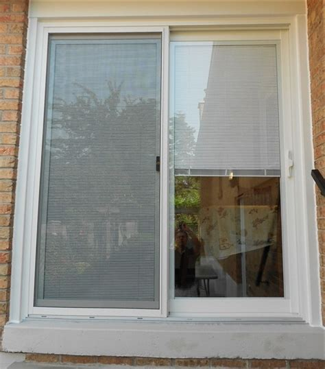 sliding patio doors with blinds between glass reviews