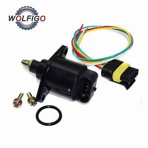 Wolfigo Idle Air Control Valve With Pigtail Harness
