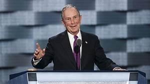 Ex-New York City Mayor Michael Bloomberg is backing ...