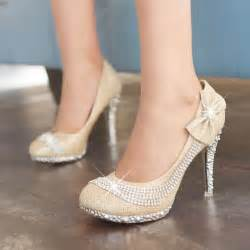 wedding shoes with bows high heeled wedding shoes with bows and ipunya