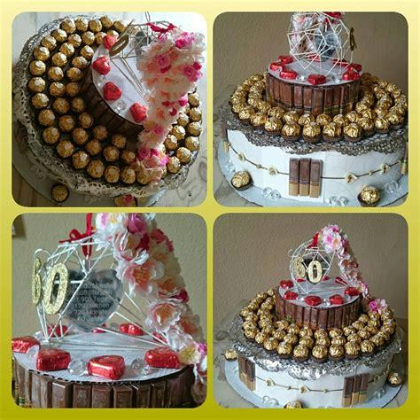 diamanten hochzeit torte kuchen suessigkeiten  jahre