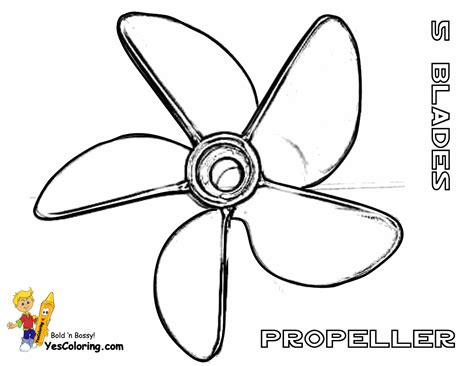 Boat Propeller Template by Rugged Boat Coloring Page Free Ship Coloring Pages
