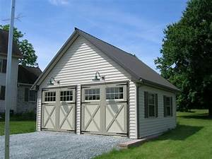 garage building kits allstateloghomescom With 2 car garage building kits