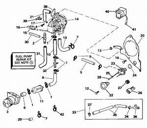 Fuel Pump Parts For 1995 200hp J200txeoc Outboard Motor