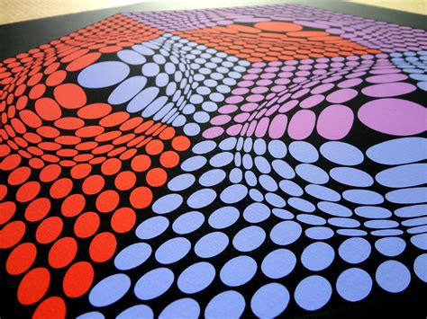 Victor Vasarely Prints for sale - Composition cinetique