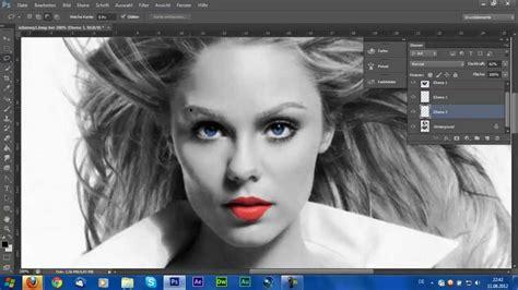 adobe photoshop cs tutorial farbe  schwarzweissfoto hd