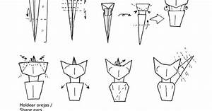 Origami  Cat Diagrams By