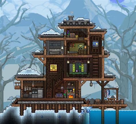 snow biome home terraria terraria house design terraria house ideas terrarium base