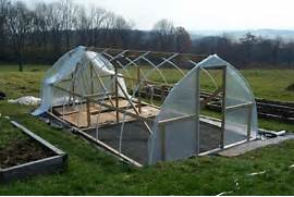 Build Small Greenhouse With Back Yard Greenhouse Kits Besides DIY Underground Greenhouse