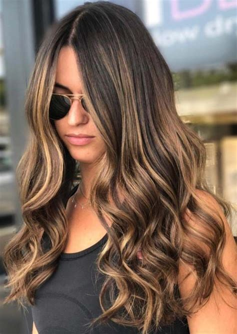 Flattering Colors For Brunettes by Flattering Ideas Of Naturally Looking Balayage