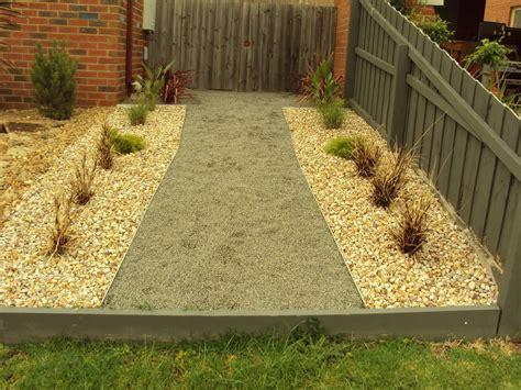 scorpio landscaping geelong simple rock garden and path