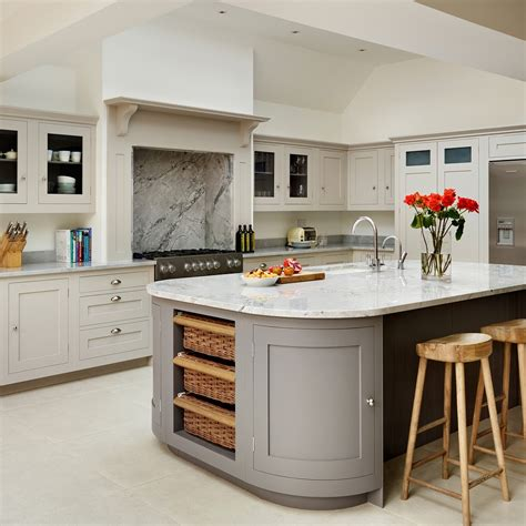 london curved kitchen islands traditional  modern