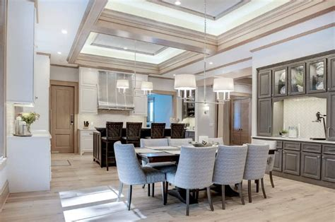 Dining Room Tray Ceiling Ideas by 50 Dining Rooms With Tray Ceilings Photos