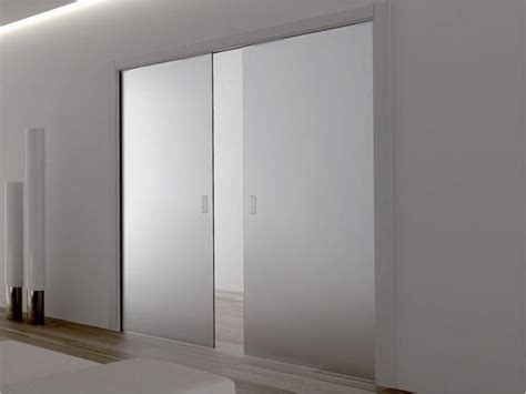 sliding frosted glass doors interior decor