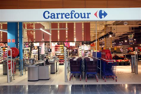 multinational chain carrefour  nisa test ibeacons  shopping baskets