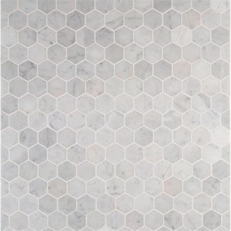 Carrara Marble Hex Tile Floors by 17 Best Images About Splash Bath On Shower