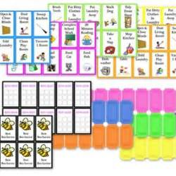 Free Printable Chore Chart Cards