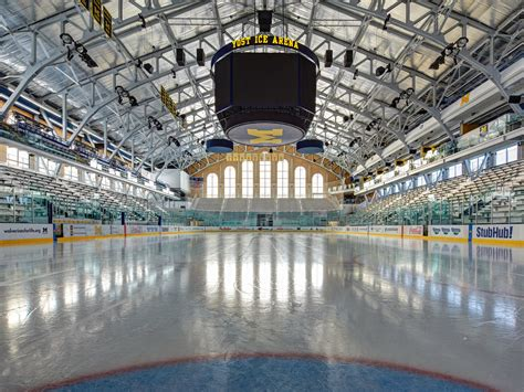 Michigan State Football Images U Of M Yost Ice Arena Rossetti Archinect
