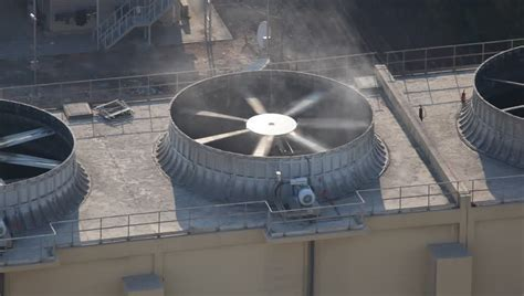 warehouse exhaust fan installation air conditioning stock footage video shutterstock