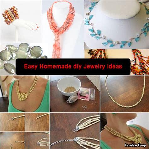20 Amazing & Creative Easy Homemade Diy Jewelry Ideas
