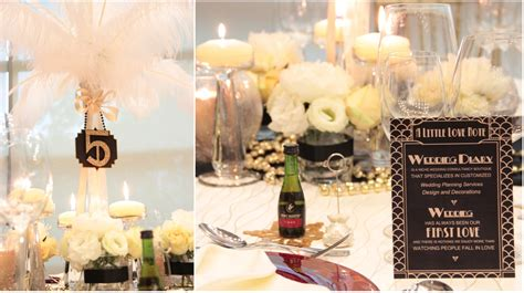 The Great Gatsby Theme! {featured In Blissful Brides