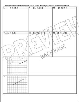 Midpoint Worksheet Worksheets For School Mindgearlabs