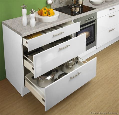 drawers in kitchen cabinets inspirational useful kitchen storage ideas home design 6958