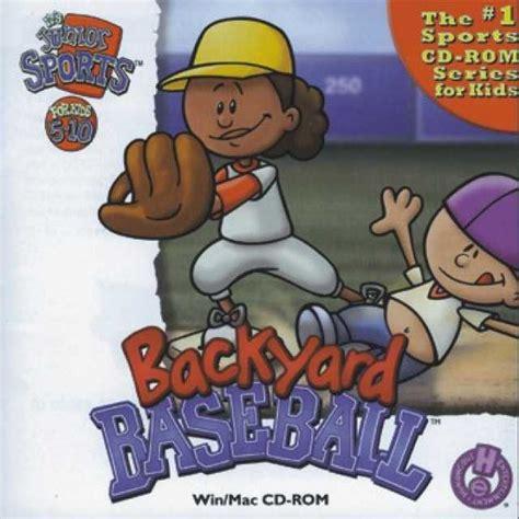Backyard Baseball 1997 by Backyard Baseball Characters Bomb