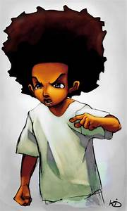 Huey Freeman from Boondocks by kid1989 on DeviantArt