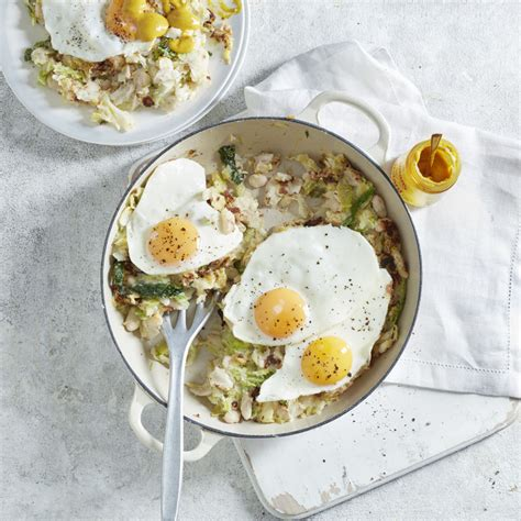 bubble squeak with egg healthy recipe ww uk