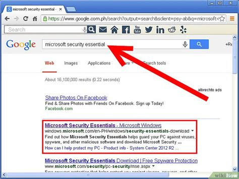 Comment Installer Microsoft Security Essentials Sur Votre