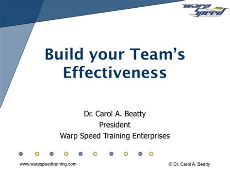 Build Your Team Footalist Ppt Build Your Team S Effectiveness Powerpoint