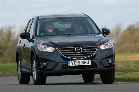 mazda cx   facelift review auto express