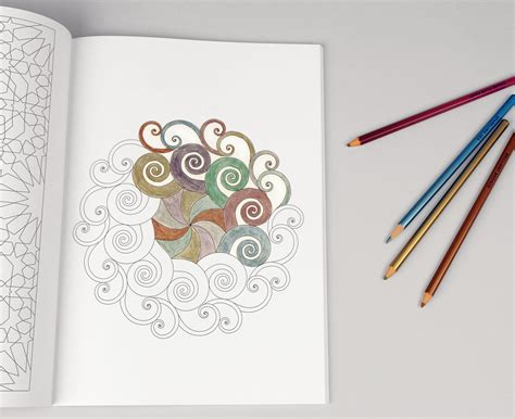 Coloring Ideas by Modern Meditation Coloring Book With Bright Ideas Metallic
