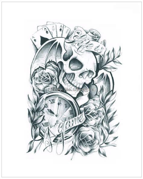 tato  hitam putih