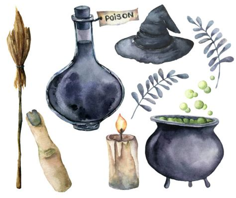 royalty  witch cauldron clip art vector images