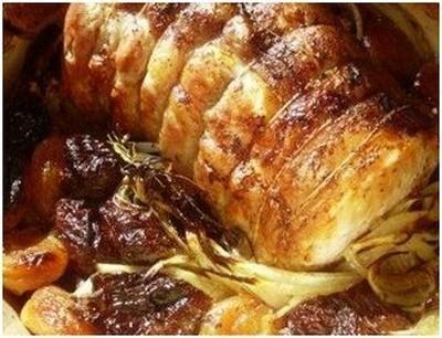 cuisiner roti de porc recette r 244 ti de porc aux abricots not 233 e 4 5