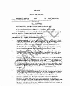 independent consulting agreement free business consultant With consultant contract template free download