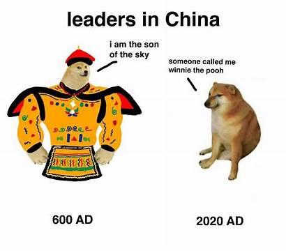 Cheems Doge Swole Vs Memes Meme Then