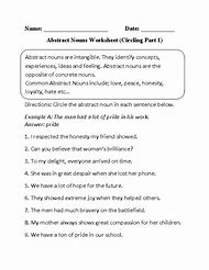Best Abstract Nouns   ideas and images on Bing   Find what you'll in addition Nouns Worksheets   Collective Nouns Worksheets besides Abstract Noun Worksheets   proworksheet besides Collective And Abstract Nouns Worksheets   Livinghealthybulletin moreover  additionally Abstract Nouns furthermore Noun Worksheets further Nouns Worksheets   Abstract Nouns Worksheets furthermore Abstract Noun Worksheets 16 Printable the 14 Best Sunboard Images On further Noun Worksheets Fifth Grade Free Printable Grammar For All 5th likewise Parts Sch Worksheets   Noun Worksheets as well mon or Abstract   Concrete Abstract Nouns Worksheet 1   jewellery further English Worksheets Collective Nouns Best Of Collective Noun likewise basic noun worksheets – atraxmorgue as well  additionally 3rd Grade Abstract Nouns Worksheet Inspirationa Nouns Worksheet Pack. on abstract and collective nouns worksheets