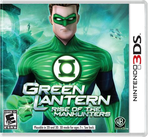 quot green lantern quot debuts on nintendo 3ds angry web