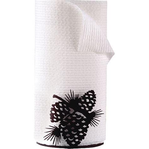 pine cone kitchen accessories pine cone paper towel holder 4223